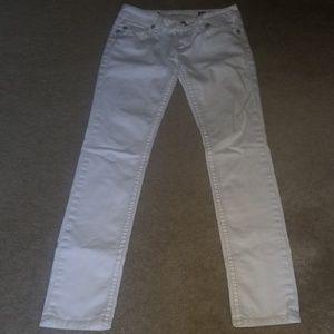 Miss Me JP5117SKW Skinny White Jean's 29